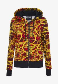 Versace Jeans Couture - LADY LIGHT SWEATER - Hoodie met rits - racing red - 4