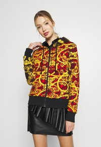 Versace Jeans Couture - LADY LIGHT SWEATER - Felpa aperta - racing red - 0
