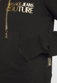 Versace Jeans Couture - LADY LIGHT - Mikina na zip - nero - 4