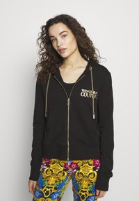 Versace Jeans Couture - LADY LIGHT - Mikina na zip - nero - 0
