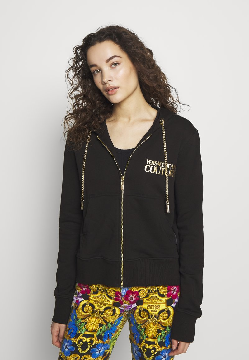 Versace Jeans Couture - LADY LIGHT - Mikina na zip - nero