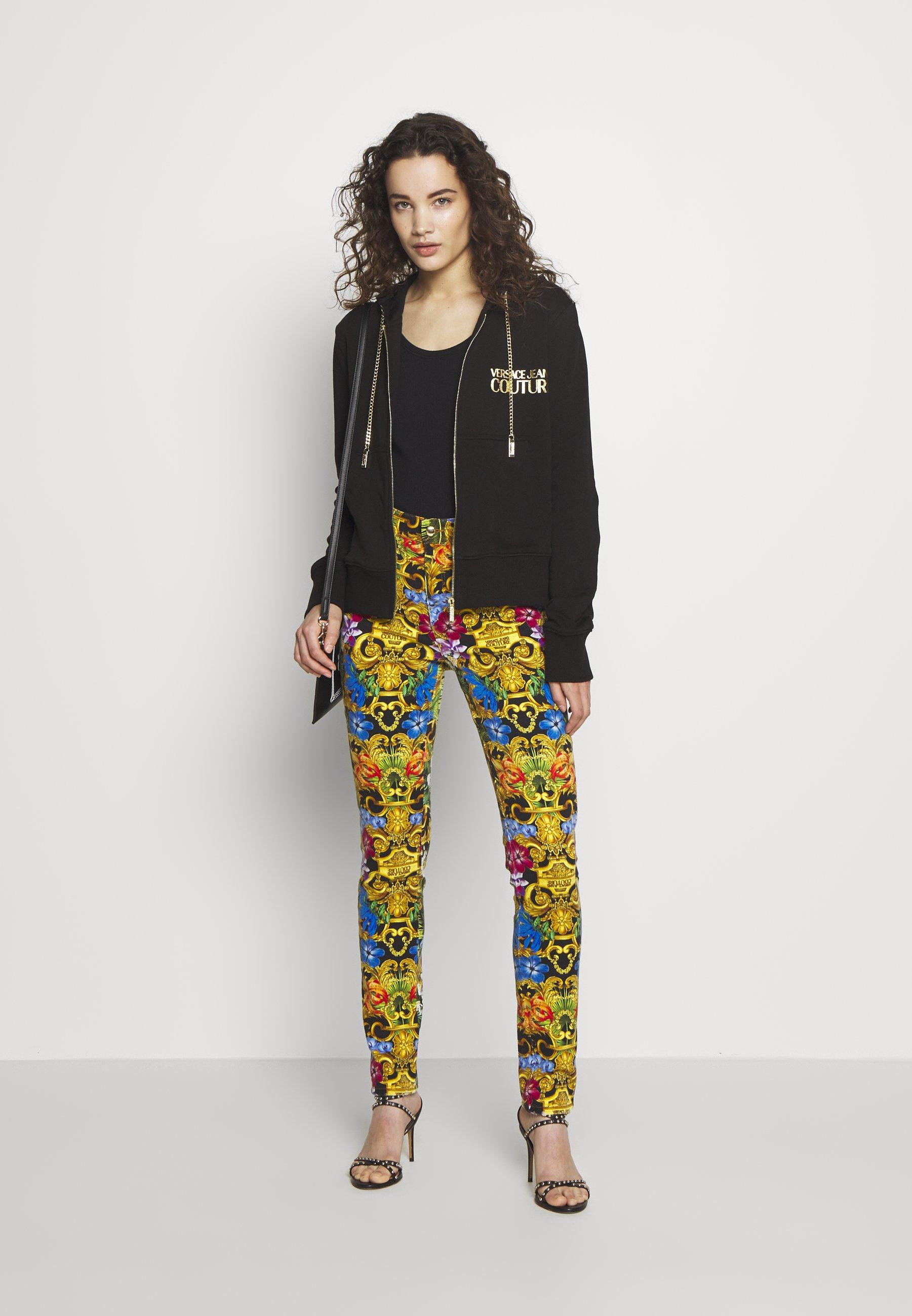 Versace Jeans Couture LADY LIGHT - Bluza rozpinana - nero