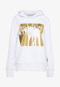 Versace Jeans Couture - LADY LIGHT SWEATER - Mikina skapucí - white - 4