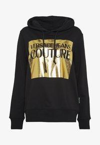 Versace Jeans Couture - LADY LIGHT SWEATER - Felpa con cappuccio - black - 3