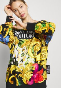 Versace Jeans Couture - LADY LIGHT - Mikina - nero - 3
