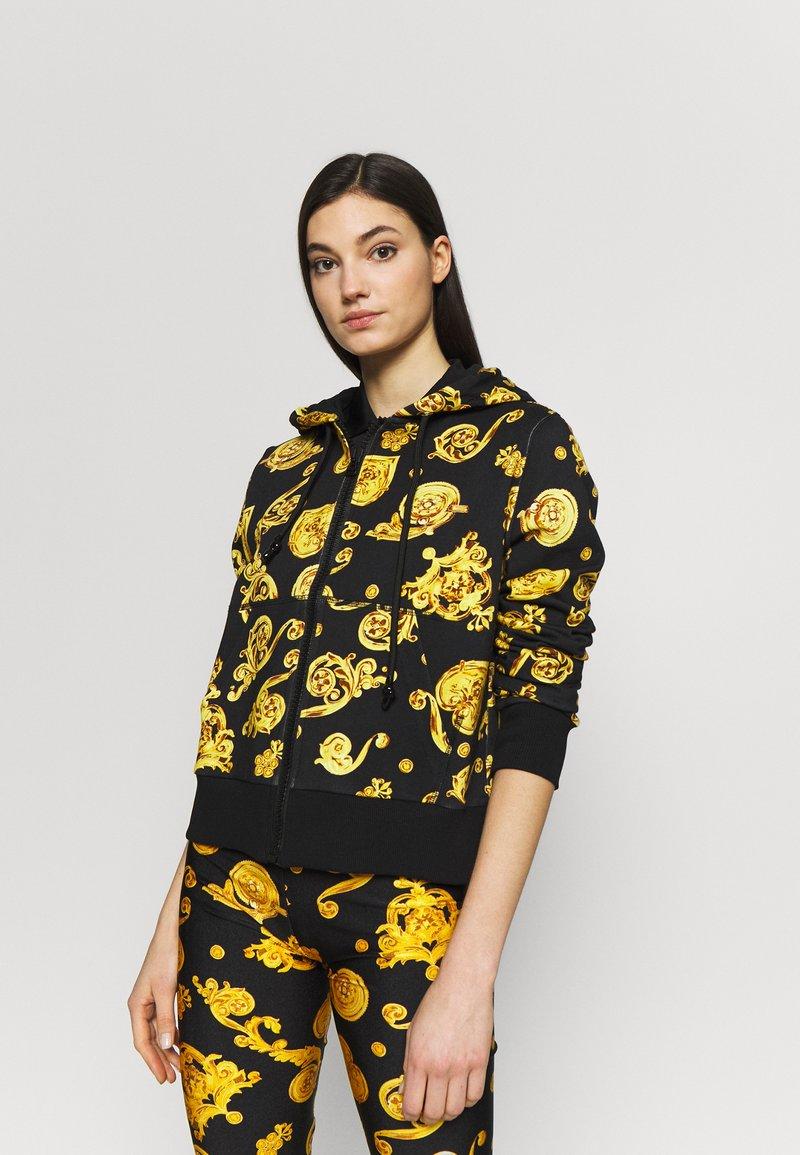 Versace Jeans Couture - Zip-up hoodie - black