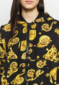 Versace Jeans Couture - Zip-up hoodie - black - 5