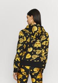 Versace Jeans Couture - Zip-up hoodie - black - 2