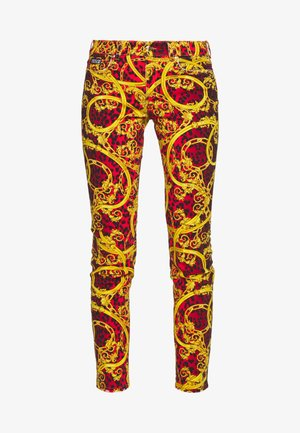 LADY TROUSER - Skinny džíny - racing red
