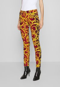 Versace Jeans Couture - LADY TROUSER - Jeans Skinny Fit - racing red - 0