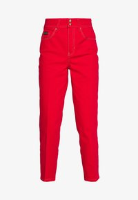 Versace Jeans Couture - LADY TROUSER - Džíny Straight Fit - racing red - 4