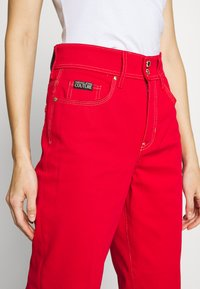 Versace Jeans Couture - LADY TROUSER - Džíny Straight Fit - racing red - 3