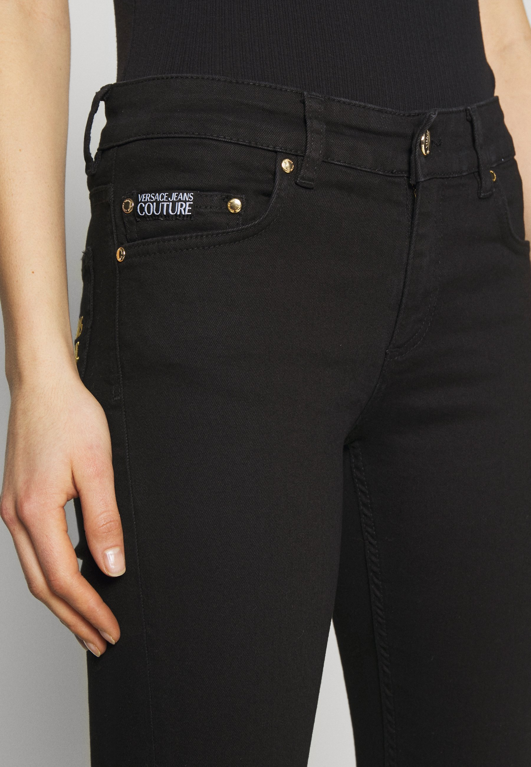 Versace Jeans Couture Jeansy Skinny Fit - nero