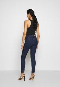 Versace Jeans Couture - LADY TROUSER - Skinny-Farkut - indigo - 2