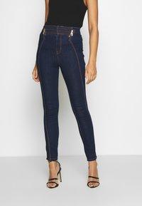 Versace Jeans Couture - LADY TROUSER - Skinny-Farkut - indigo - 0
