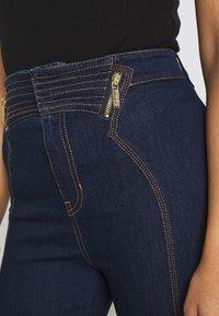 Versace Jeans Couture - LADY TROUSER - Skinny-Farkut - indigo - 5