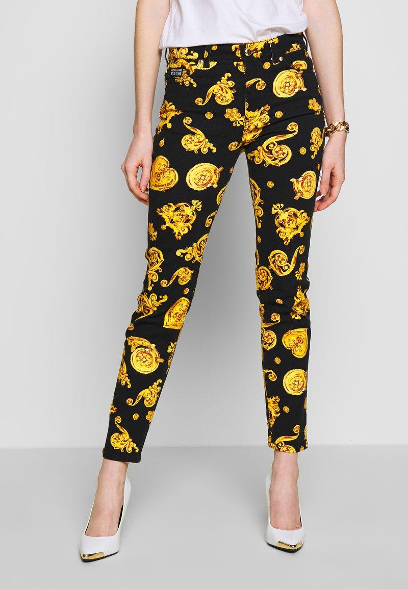 Versace Jeans Couture - Skinny džíny - black