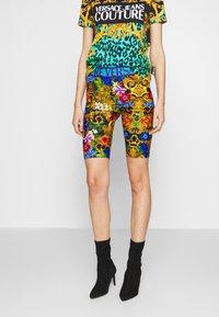 Versace Jeans Couture - LADY FUSEAUX - Shorts - multi-coloured - 0