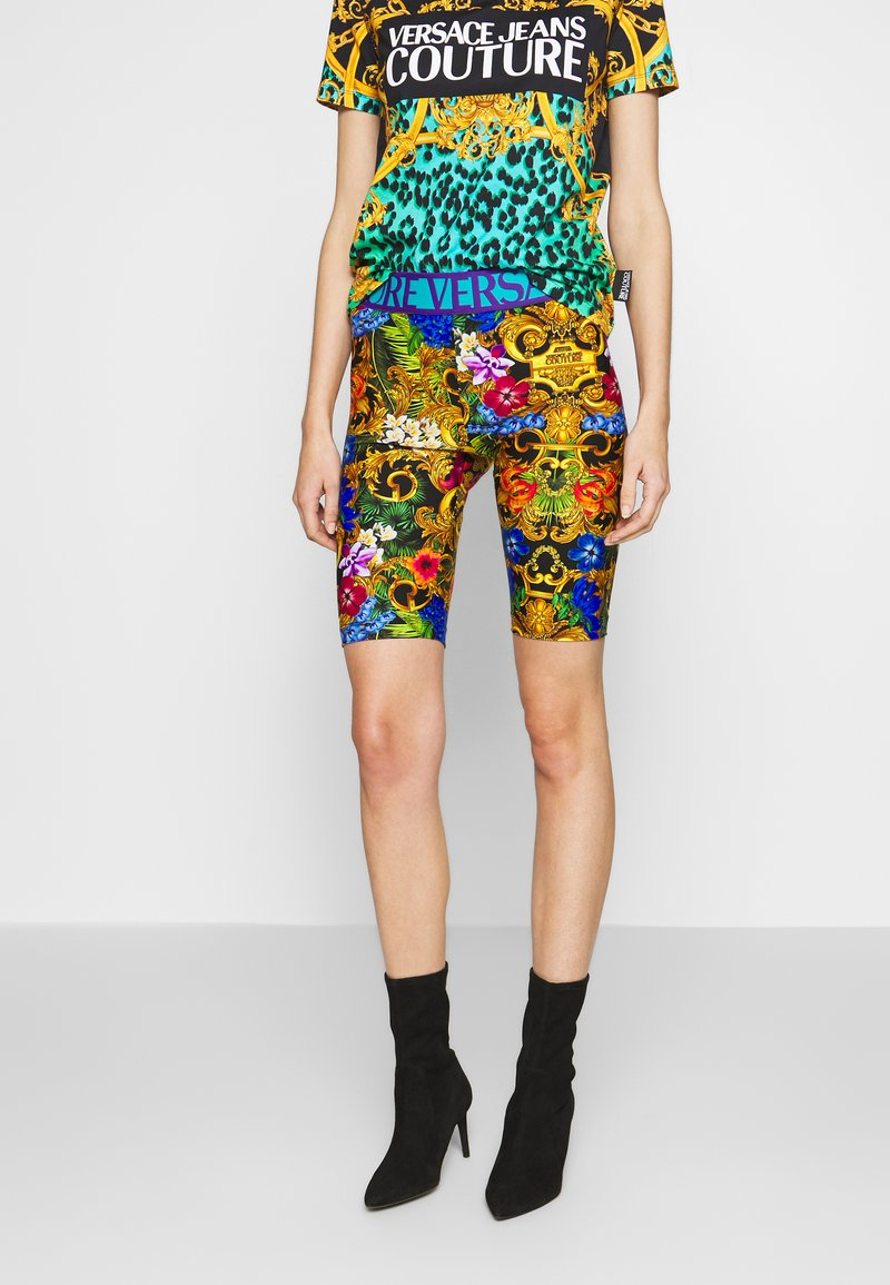 Versace Jeans Couture - LADY FUSEAUX - Shorts - multi-coloured