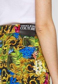 Versace Jeans Couture - Denim shorts - multi-coloured/black - 5