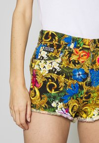 Versace Jeans Couture - Denim shorts - multi-coloured/black - 3
