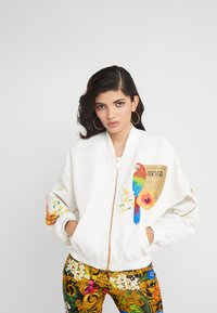 Versace Jeans Couture - LADY JACKET - Bomberjacka - panna - 0