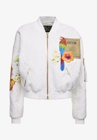 Versace Jeans Couture - LADY JACKET - Bomberjacka - panna - 6