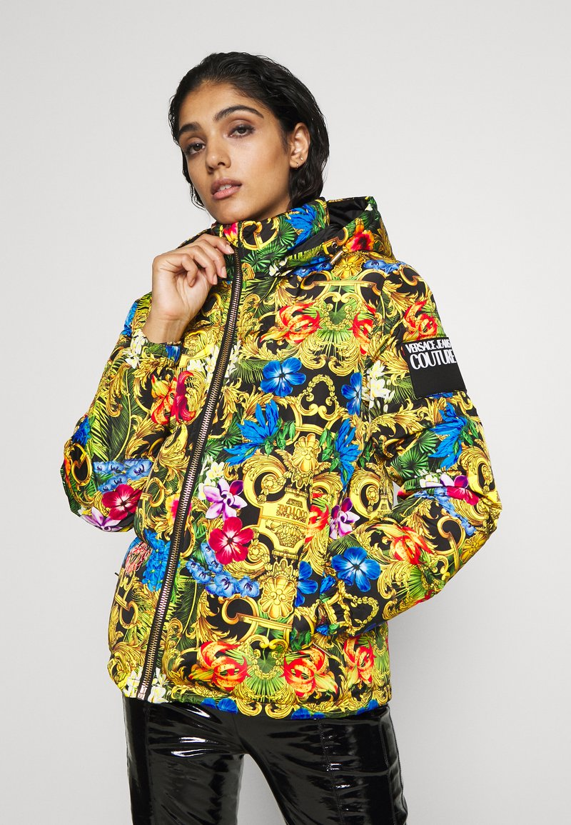 Versace Jeans Couture - QUILTED JACKET - Gewatteerde jas - multi-coloured