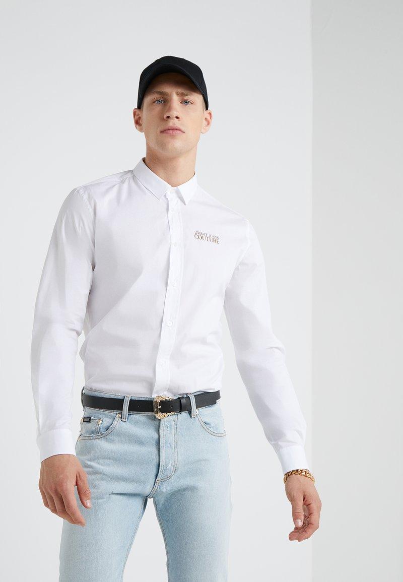 Versace Jeans Couture - CAMICIE UOMO - Skjorte - bianco ottico