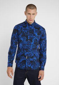 Versace Jeans Couture - BAROQUE - Camisa - black/blue - 0