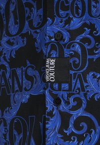 Versace Jeans Couture - BAROQUE - Camisa - black/blue - 6