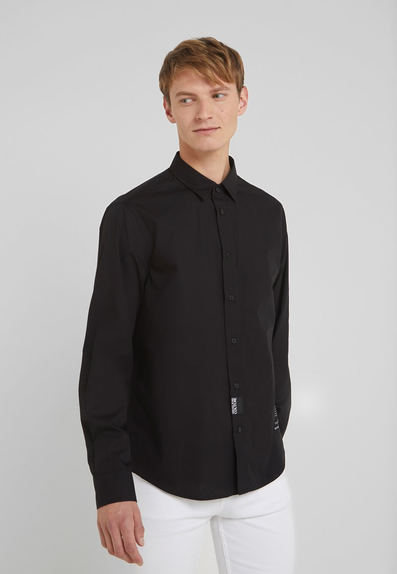 Versace Jeans Couture - CAMICIE  - Hemd - nero