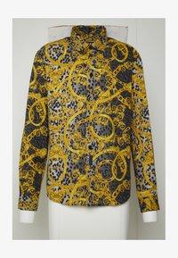 Versace Jeans Couture - ALLOVER PRINT - Koszula - black - 4