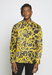 Versace Jeans Couture - ALLOVER PRINT - Koszula - black - 0