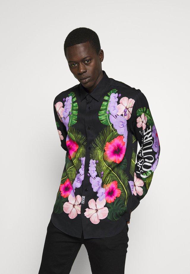 FLORAL PRINT SHIRT - Skjorter - black