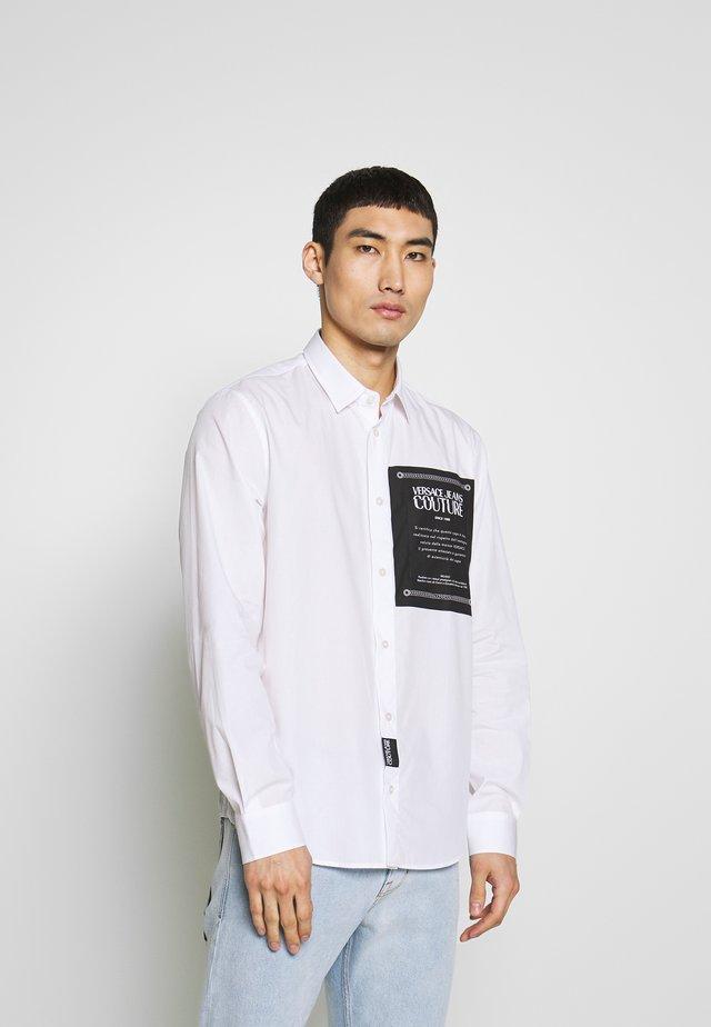 LABEL LOGO  - Hemd - white