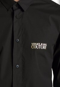 Versace Jeans Couture - BASIC LOGO - Camicia - black - 6