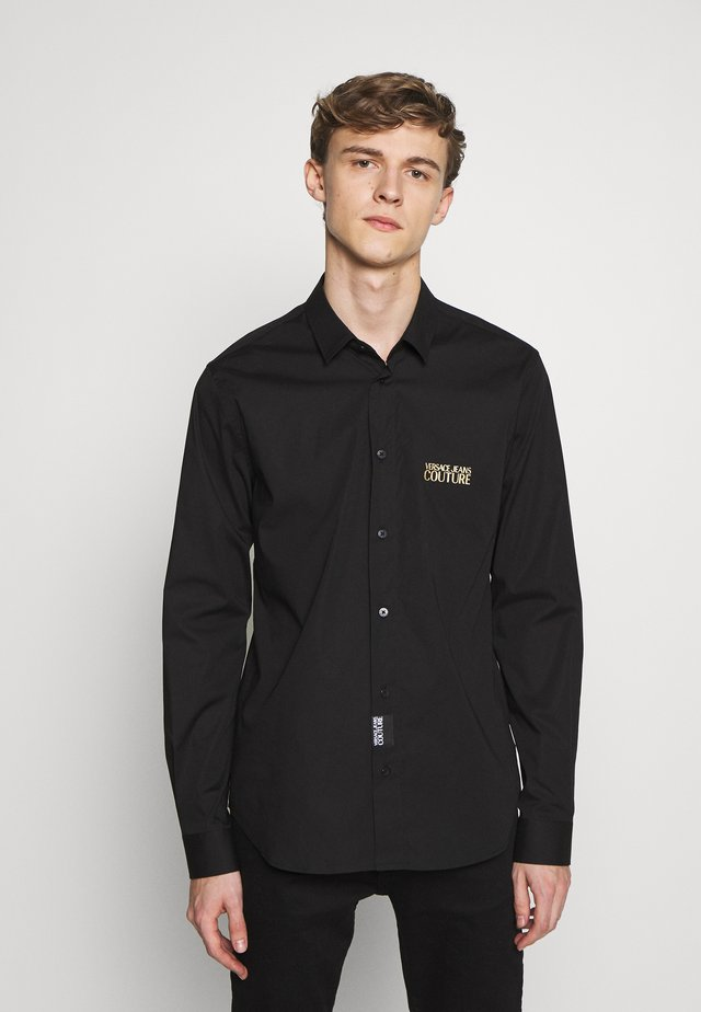 BASIC LOGO - Camicia - black
