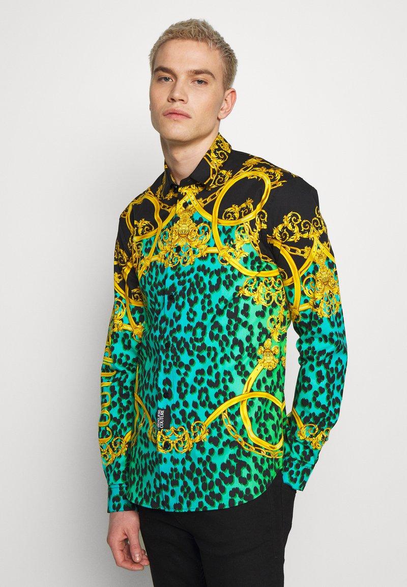 Versace Jeans Couture - LEO ALLOVER SHIRT - Shirt - pure mint