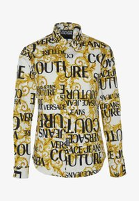 Versace Jeans Couture - ALLOVER PRINT - Skjorter - white - 4