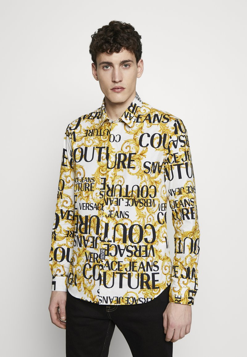 Versace Jeans Couture - ALLOVER PRINT - Skjorter - white