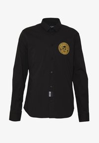 Versace Jeans Couture - PATCH NO 'BE BAROQUE' PATCH - Camicia - black - 4