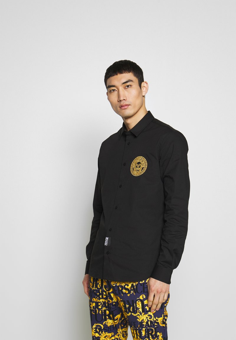 Versace Jeans Couture - PATCH NO 'BE BAROQUE' PATCH - Camicia - black