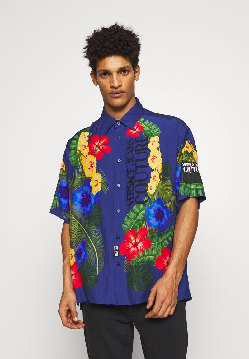 Versace Jeans Couture - HAWAII  - Hemd - blue