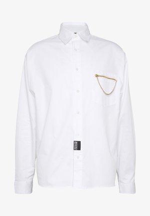 CHAIN SHIRT - Košile - white