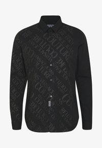 Versace Jeans Couture - TONAL LOGO PRINT - Camicia - black - 3