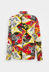 Versace Jeans Couture - PRINT BELT PAISLEY - Overhemd - rosso - 4