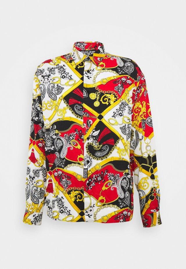 PRINT BELT PAISLEY - Skjorter - rosso
