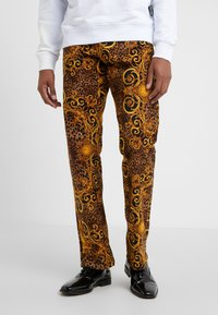 Versace Jeans Couture - PANTALONI UOMO - Tygbyxor - gold - 0