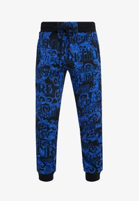 Versace Jeans Couture - BAROQUE - Tracksuit bottoms - dark blue - 4